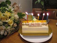 バースディにケーキが3つ!?